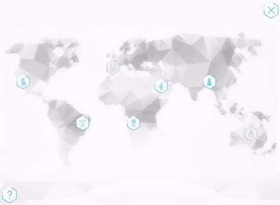 mapa mundial serious game 2100