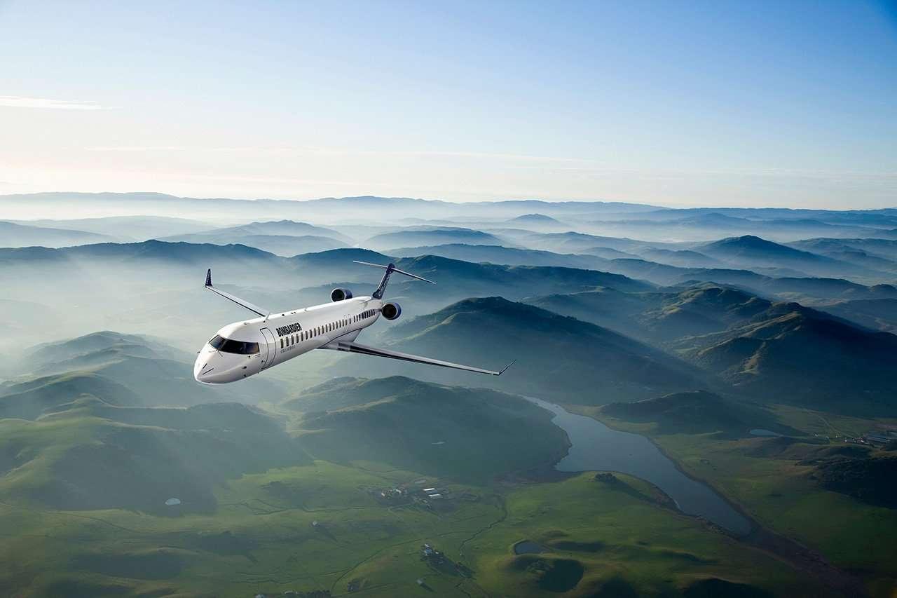 Flugzeug Bombardier