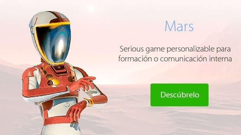 Mars videojuego para formación y comunicación corporativas