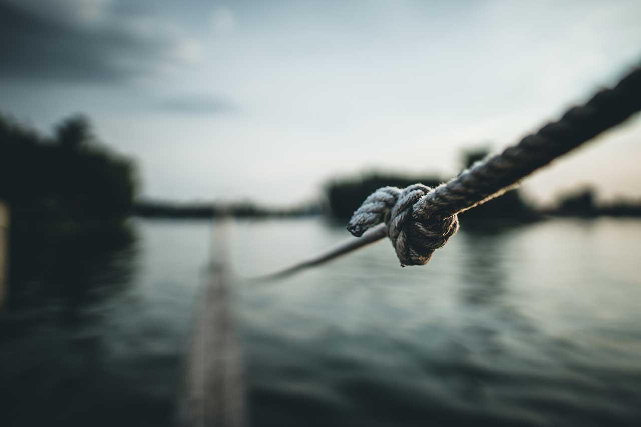 Cuerda con nudo