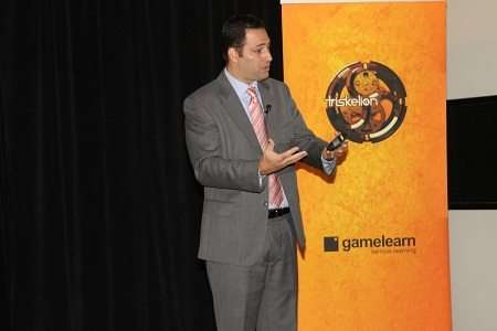 Gamifikation aus der Feder unseres CEO auf der GREF-Tagung