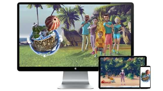 pacific in html5