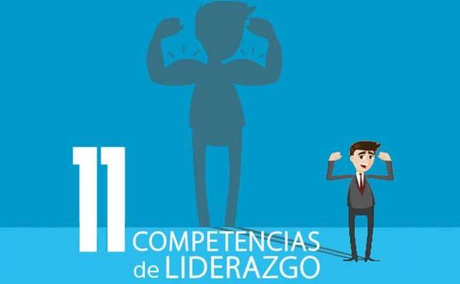 Las 11 competencias de liderazgo que te harán indestructible (Infografía)