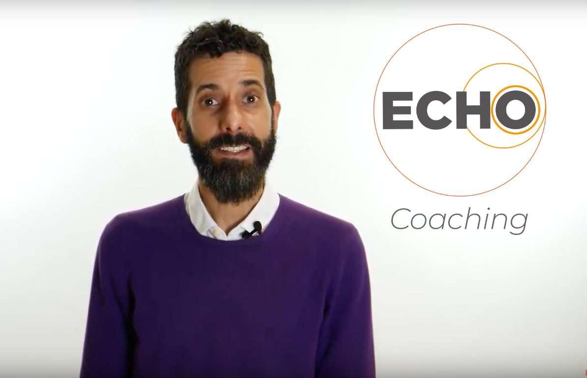 Comment le serious game Echo développe-t-il les compétences d'un bon coach?
