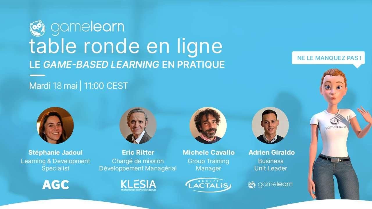 La valeur ajoutée du game-based learning chez Lactalis, Klésia et AGC Glass Europe
