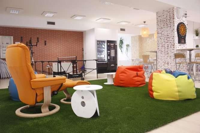 espace de jeux des bureaux de Gamelearn